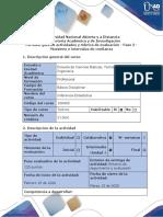 Guía de actividades y rúbrica de evaluación – Fase 2
