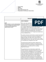 Feedback Report AinD Presentation - Fergus Dale