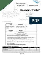 S-8700G INTERIOR FLOOR FINISH WAX SDS 2016_1478626165