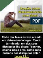 Serie de Mensagem do dia 12-01-20 - (Oração como relacionamento com Deus) - Janeiro - Simone.pptx
