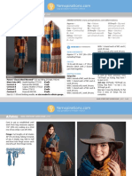 Marl Stripe Knit Super Scarf pdf