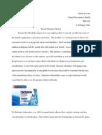 preventative paper - therapies