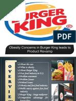 Burger King case study
