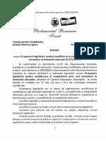 Proiectul normativ votat pe 10 februarie 2020 care modifica Legea Educatiei