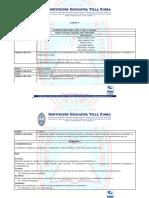 Malla currricular 2018 a 2021 Idioma extranjero