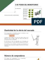FUENTES DE PODER DEL MONOPSONIO