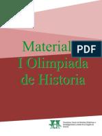 Material I Olimpiada de Historia