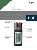 Manual detector gases