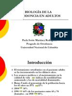 BIOLOGÍA DE LA ORTODONCIA EN ADULTOS.ppt