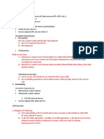Service Design Questionnaire