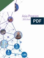 Asia Program 2019 Annual Report
