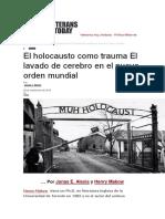 El holocausto como trauma El lavado de cerebro en el nuevo orden mundial.docx