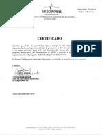 certificado interquimec