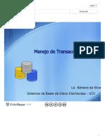 Manejo de Transacciones - ppt descargar