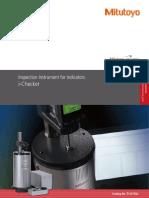 Brochure - Mitutoyo E12015 Inspection Instrument for Indicators (ichecker)