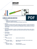 Cable LSOH80 - INMERSUR