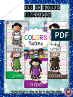 Colores en inglés Melonheadz