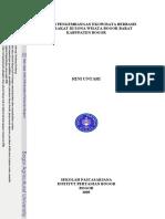 STRATEGI PENGEMBANGAN EKOWISATA BERBASIS MASYARAKAT DI ZONA WISATA BOGOR BARAT KABUPATEN BOGOR RINI UNTARI.pdf