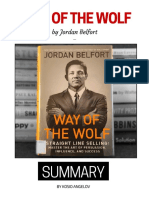 Way of the Wolf by Jordan Belfort - Summary & Review PDF