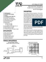 Datasheet LTC1286 fs