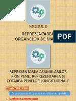 REPREZENTAREA ASAMBLARILOR PRIN PENE