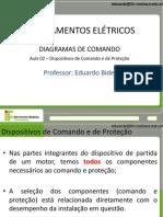 Acionamentos Elétricos - Aula 02 - Dispositivos de Comando e de Proteção