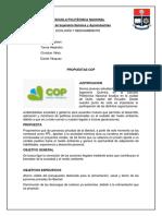 Propuestas COP Ecología