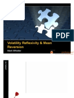 Volatility Reflexivity & Mean Reversion by Mark Whistler