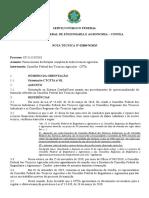 Nota Técnica Tecnicos Agrícolas - Orientação CTCFTA nº 01