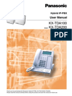 Kx Tda100 User