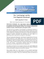 Arab Spring  New Regional Chessboard