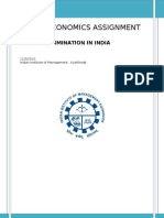 Methods of Wage Determination in India