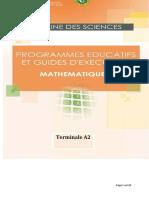 Programme Eductif maths TA2 CND 20-2