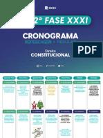 CRONOGRAMA OAB 2020