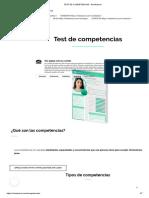 TEST DE COMPETENCIAS - RoleAdvisor