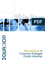 White Paper Best Practices CPG