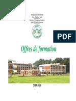 Offres de formation 2015
