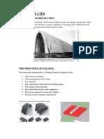 FOLDED PLATES PDF