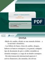 7.- DIVISA