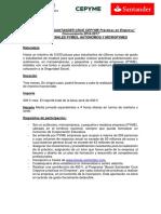 Bases Empresa Convocatoria 2016-2017