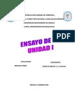 ENSAYO DE INTERVENCION DE PSICOEDUCATIVA
