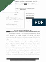 Amazon JEDI Lawsuit Filing