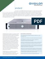 avigilon-nvr4-std-datasheet-es-rev5
