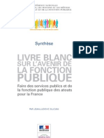 Synthese Livre Blanc
