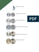 monedas de Guatemala
