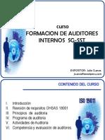 MÓDULO XI_FORMACION  DE AUDITORES INTERNOS SGSST