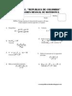 Practica Calificada de Matemáticas PC3 Ccesa007