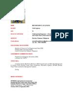 CV Mer Anthony Dela Rosa Civil Engineer QAQC updated jan 2017