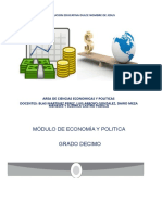 MODULO ECONOMIA CICLO V GRADO DECIMO CON EVALUACIONES Y TALLERES (1)