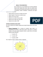 sistema de medicion de angulos trigonometricos